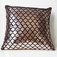 Velours / Polyester Taie d'oreiller , Géométrique Moderne/Contemporain