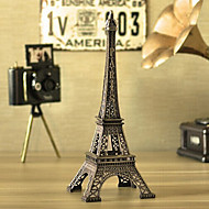 Creative  18cm Height Mini Rhinestones Iron Metal Paris Eiffel Tower