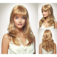 Fashionable Synthetic African American wigs Long Wavy hair wig for women Sexy Natural wigs with Bangs sw0436