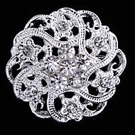 סיכת יהלומים מלאכותיים סגסוגת לצד נשים