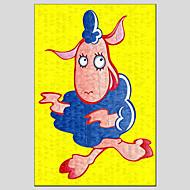 dipinti ad olio stile mucca moderno, materiale tela con telaio in legno pronto ad appendere formato: 60 * 90cm.