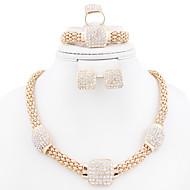 Fashion new neclace set for women(necklace,ring,earrings,bracelet)jewelry sets