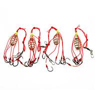 Rybářská-4 ks Černá Nerezová ocel / železo-AnmukaMořský rybolov / Muškaření / Bait Casting / Rybaření v ledu / Rybaření ve sladkých