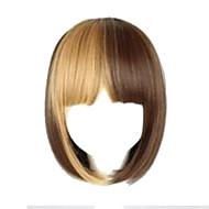 Parti perruque - Multicolore - Droit - en Fibre synthétique  - pour Femme