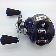 Baitcast Reels 6.3:1 15 Ball Bearings Left-handed Bait Casting / Freshwater Fishing / Lure Fishing - KW150 L MING JU WU