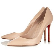 Women's Shoes Leatherette Stiletto Heel Heels / Pointed Toe Heels Party & Evening / Dress / Casual