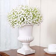 Silke / Silika Gele Brudeslør Kunstige blomster