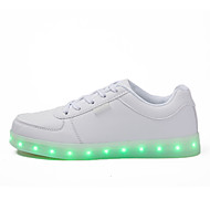 Running Shoes 2016 New Arrival Men's Led lighting Shoes USB Charging Outdoor / Casual PVC / Glitter Fashion Sneakers Silver / Gold