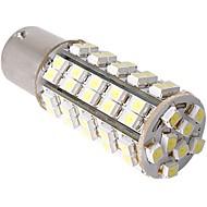 2 x bil 1156 1073 7527 hale bremse parkering pære lampe hvit 68 SMD LED lys 12v