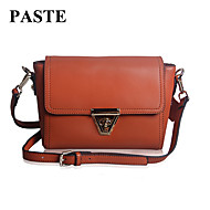 Paste® Popular Vintage Style Real Leather Women Shoulder Bag