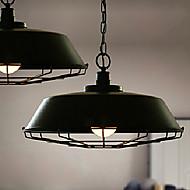 E27 220V 26CM 3-5㎡ Wrought IronCountry Restoring Ancient Ways, Single Head Droplight Lamp Led Light