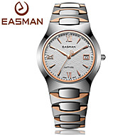 EASMAN® Mens Tungsten Steel Rose Gold Watches Luxury Sapphire Glass Waterproof Date Show Business Wrist Watches for Men Cool Watch Unique Watch