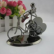 performers caixa de música de bicicleta um relógio caixa de música ironman