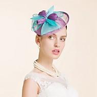 Women's Flax Headpiece-Wedding Special Occasion Fascinators 1 Piece