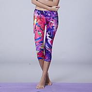 Queen Yoga ® Yoga 3/4 Tights Ademend / Compressie / Zweetafvoerend Hoge Elasticiteit Sportkleding Yoga Dames