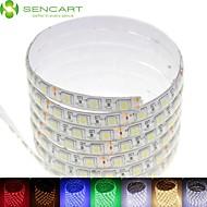 5 m 75waty 300x5050smd LED RGB / bílá / zelená / modrá / žlutá / červená / studená bílá / teplá bílá DC12V IP68 vodotěsné LED světlo