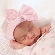 Newborn Soft Knitted Bow Knot Cotton Hat(0-3Month)
