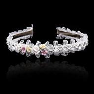 Mujer Niña de flor Diamantes Sintéticos Aleación Celada-Boda Ocasión especial Bandas de cabeza 1 Pieza