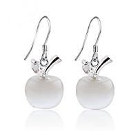 Earring Stud Earrings Jewelry Women Wedding / Party / Daily Sterling Silver 1set Silver