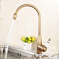 Centerset Antique Brass Kitchen Faucet