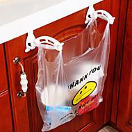 armários de armazenamento de sacos de lixo de plástico gancho
