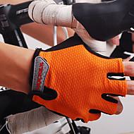 NUCKILY® Luvas Esportivas Mulheres / Homens Luvas de Ciclismo Primavera / Verão / Outono Luvas para CiclismoCamurça de Vaca á