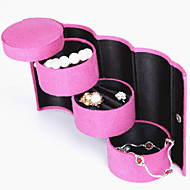 Jewelry Boxes Leather 1pc Pink