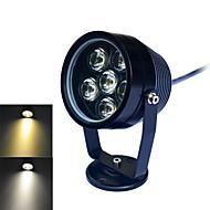 1 ks jiawen 6 W 6 High Power LED 480~540LM LM Teplá bílá / Chladná bílá Voděodolné Podvodní světla DC 24 V