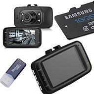 16G Memory Card+HD 1080P Car DVR Vehicle Camera Video Recorder Dash Cam G-sensor HDMI GS8000L
