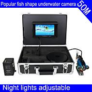 """kalakaiku vedenalaisen kameran mytopia 50m vedenalainen videokamera kalastus kalakaiku 7 """"TFT LCD värinäyttö"""