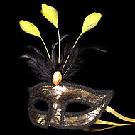 Maszk / Álarcosbál Angel & Devil Fesztivál/ünnepek Mindszentek napi kösztümök Piros / Aranyozott / Ezüst Kollázs MaszkMindszentek napja /