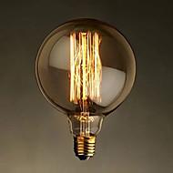 e27 40w Эдисон G125 прямой провод большой шарик шарика ретро декоративных лампочек