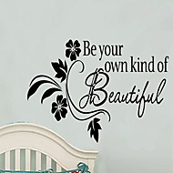 Creative English Words & Quote Own Style Wall Decal Decorative Removable PVC Wall Sticker
