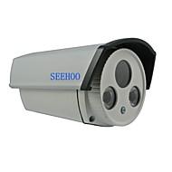 """seehoo® fh5239d 1/4 """"CMOS de 2 PC matriz de LED al aire libre a prueba de agua&pal lente HD 6mm utilizado en interiores"""