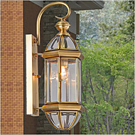 פמוטי קיר LED מסורתי/קלאסי מתכת