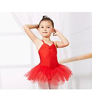 Kids' Dancewear Leotards Children's Training Spandex Sleeveless CM:110:50,120:53,130:56,140:59,150:61,160:64,170:67,180:70