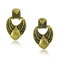 New Vintage Jewelry Earrings Zinc alloy with antique Gold Plated Earring for Woman