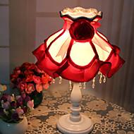 18*36CM European Rural Creative Bedroom Lovely Princess Resin Lamp Light Led