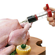 BBQ  Stainless Steel Turkey Barbecue Syringe Condiment Needle Syringe