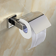 """סט של אביזרים לאמבטיה / מחזיק נייר טואלט פלדת אל חלד התקנה על הקיר W15.9cm xL9cm xH14cm(W6"""" xL4"""" xH6"""") פלדת אל חלד מודרני"""