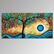 Vizualni star®new sretan stablo ručno ulje na platnu suvremeno platno umjetnička djela spreman za objesiti