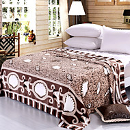 Colorful Leaves High-end Green Environmental Protection Printing And Dyeing Method, Wool Blanket Full Size