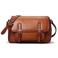 Paste® England Classic Leather Messenger Bag