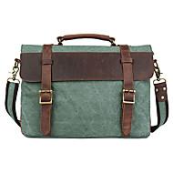 Men Cowhide / Canvas Formal / Sports / Casual / Office & Career / Shopping / OutdoorShoulder Bag / Tote / Satchel / Laptop Bag / School