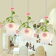 16W Lámparas Colgantes ,  Moderno / Contemporáneo / Tiffany / Campestre Otros Característica for Cristal MetalSala de estar / Dormitorio