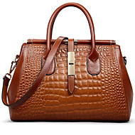 Handcee® First Layer Of Leather Crocodile Pattern Handbags /Shoulder Bag