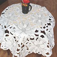 1 Polyester Carré Nappes de tableHôtel Dining Table / Décoration Wedding Party / Wedding Banquet / Décorations de Noël Favor / Tableau