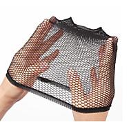 muoti joustava venyvän peruukki korkki verkot musta naisten nylon peruukki korkki 1 kpl