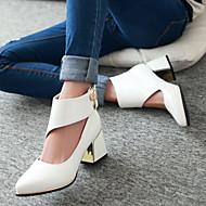 Women's Shoes Heel Heels Heels Outdoor / Dress / Casual Black / Red / White/030