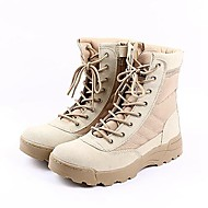 Men's Shoes Amir 2017 Hot Sale Outdoor/Work Synthetic Hard-wearing Combat Boots Black / Beige